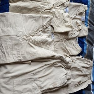 Landau scrubs - men's XL in sandstone